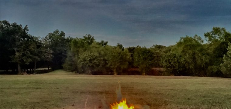 Church Family Bonfire