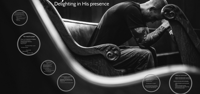 Delighting in His Presence – Prayer Part 1