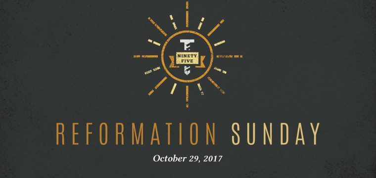 Celebrating 500 Years of the Reformation