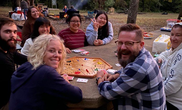 Church Family Day at Bonham State Park