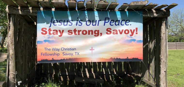 Stay strong, Savoy!