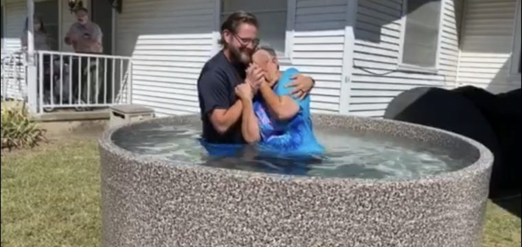 October 4th baptisms:  Patty Wilson and Pamela Wilson